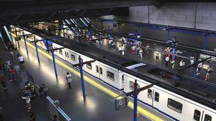 La estación de Metro de Duque de Pastrana cerrará dos semanas