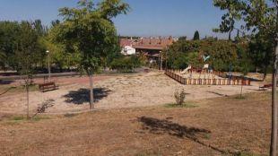 El Ensanche de Barajas estrenará en noviembre ocho zonas verdes remodeladas
