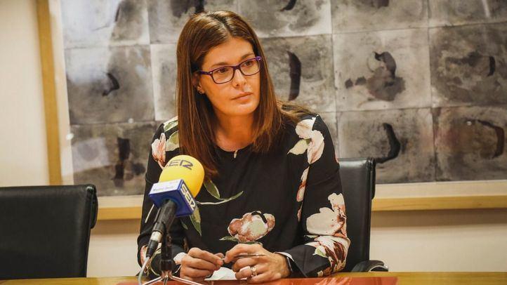 Noelia Posse durante una entrevista en una foto de archivo.