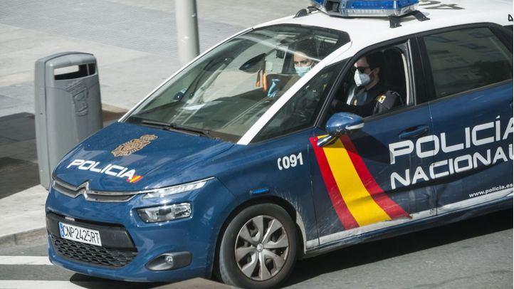 patrulla.policia Nacional,mascarillas