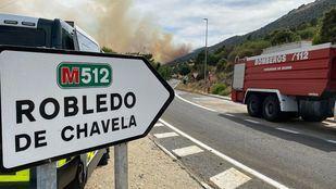 Las carreteras cortadas por el incendio han sido reabiertas