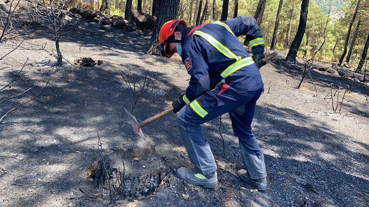 Extinguido el incendio de Robledo de Chavela