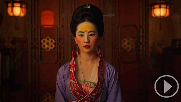 Fotograma de la película Mulán