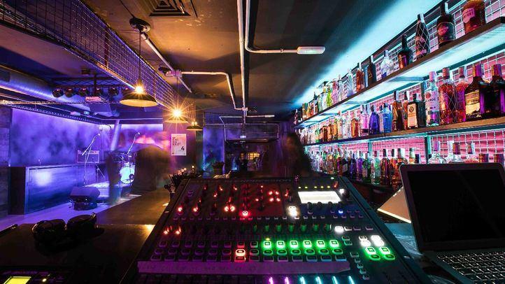 Sala de conciertos Hangar 48.