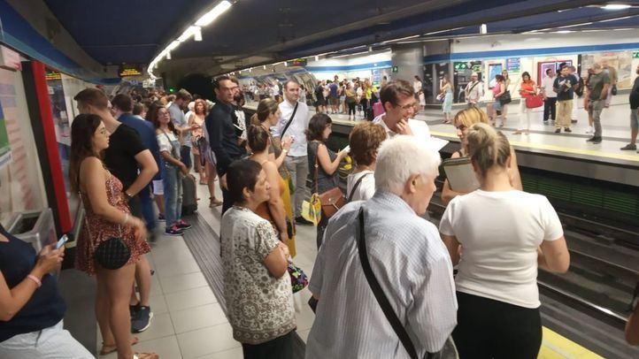 CCOO señala la falta de personal y trenes en el Metro de Madrid