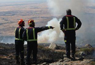 La Comunidad emprenderá trabajos de recuperación en terrenos del incendio de Cadalso