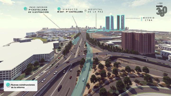 Madrid inicia la expropiación de terrenos para la remodelación del Nudo Norte