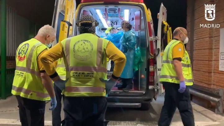 Un hombre ha sido trasladado grave al Hospital 12 de Octubre con cinco heridas de arma blanca