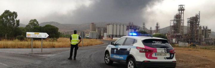 Explosión en una planta petroquímica en Puertollano