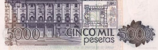 Billete de 5.000 pesetas