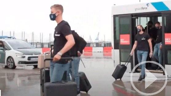 El Atlético pone rumbo a Lisboa sin Correa y Vrsaljko, positivos por coronavirus
