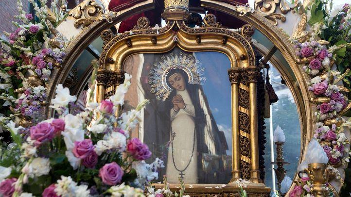 La procesión que cerró las fiestas de La Paloma 2019
