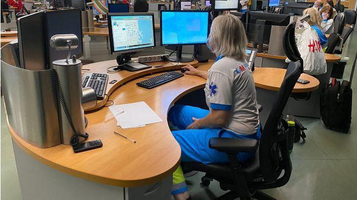 Centro de coordinación de Emergencias 112
