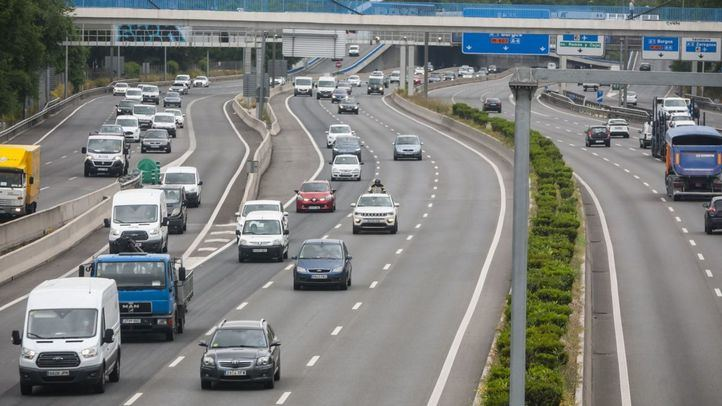 Imagen de una carretera de Madrid