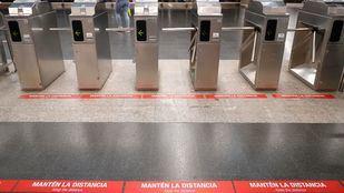 Metro amplía a 148 estaciones el control automático de aforo