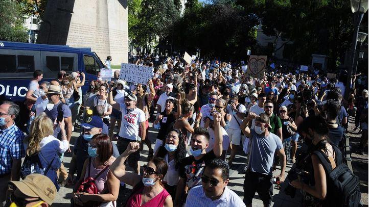 La Delegación del Gobierno investigará lo ocurrido en la manifestación contra las mascarillas