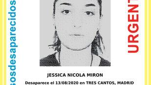 Localizada la joven de 15 años desaparecida en Tres Cantos el pasado jueves