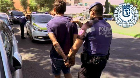 Un hombre, arrestado tras dejar inconsciente a otro en Centro