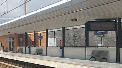Estación de La Poveda, en la Línea 9b de Metro