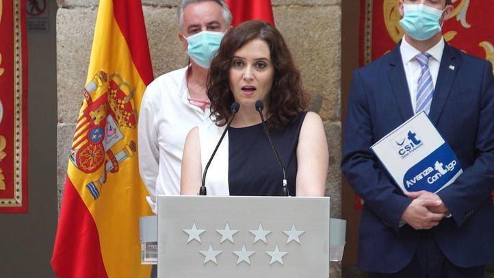 El PSOE no descarta una moción de censura contra Ayuso