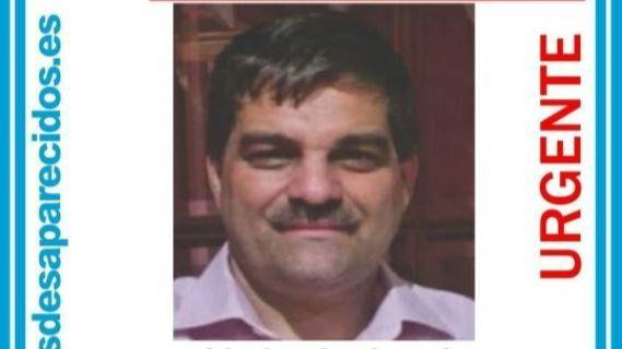 Desaparecido un hombre de 53 años desde hace seis días en Coslada