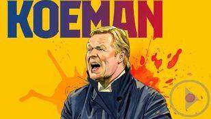 Koeman, nuevo entrenador del Barça hasta 2022