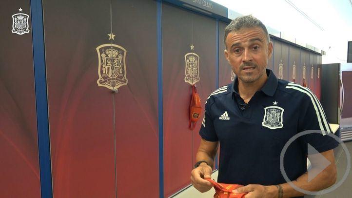 Luis Enrique rejuvenece la selección española
