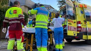 Fallece el hombre hospitalizado por intoxicación por pintura en Alpedrete
