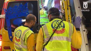 Conductor herido en un accidente con cuatro coches implicados en la M-40