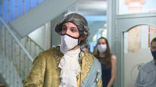 El Real Coliseo Carlos III recupera las visitas teatralizadas