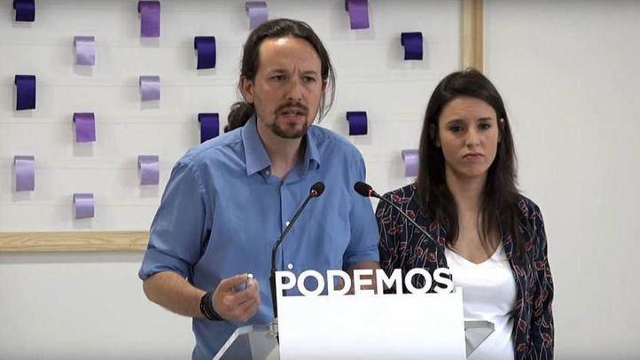 Pablo Iglesias e Irene Montero presentan una denuncia por amenazas a sus hijos