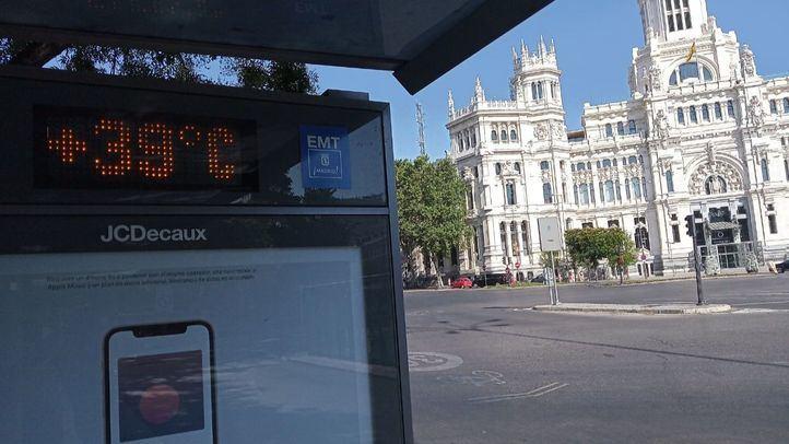Activado en Madrid el aviso amarillo por calor para la tarde de este martes