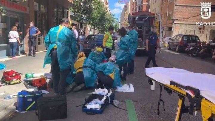 Detenido el conductor que se dio a la fuga tras atropellar a una mujer en Chamberí