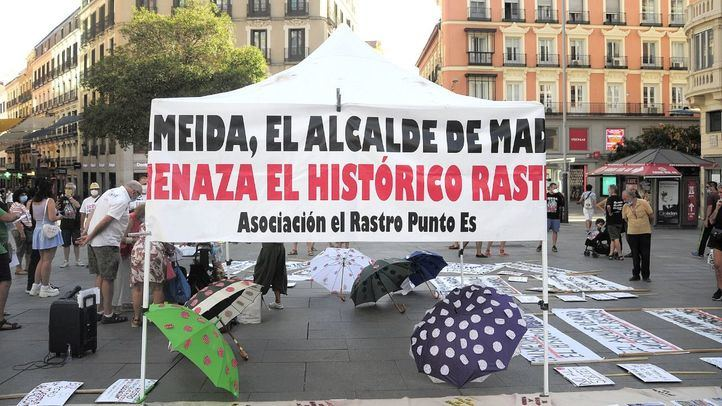 Comerciantes del Rastro trasladan sus protestas a Callao