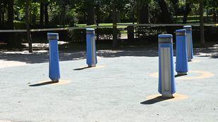 El Retiro y otros ocho parques mantendrán zonas balizadas por alerta amarilla por viento