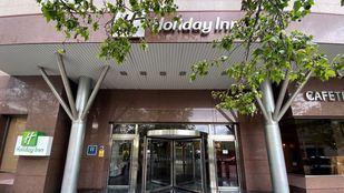 Holiday Inn Madrid Las Tablas, habilitado durante la pandemia para alojar a personas sin hogar