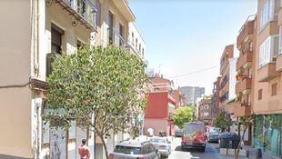 Calle de Tetuán en la que se produjeron los hechos.