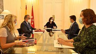 Reunión entre Más Madrid y el Gobierno regional
