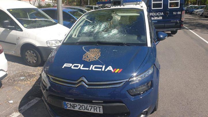Dos detenidos por robar 1.500 metros de cable de cobre en Alcorcón