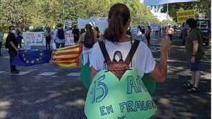 Trabajadores públicos protestan contra el abuso de la temporalidad