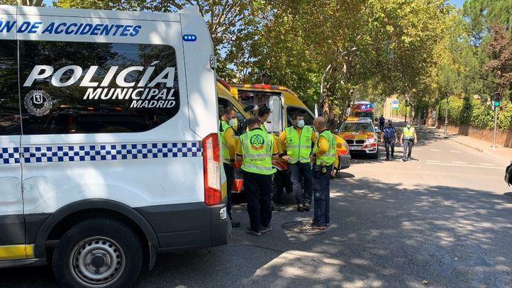 Detenido el conductor de un autobús que arrolló a un hombre en Aravaca