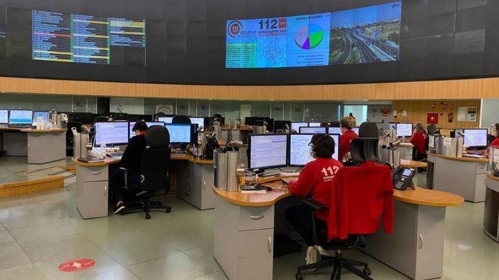Un fuerte olor derivado de un incendio en Guadalajara hace saltar las alarmas en Madrid