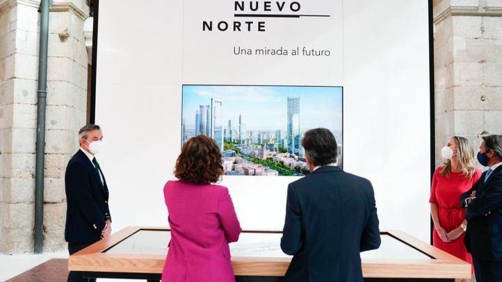 La maqueta de Madrid Nuevo Norte ya está abierta a las visitas en la Real Casa de Correos