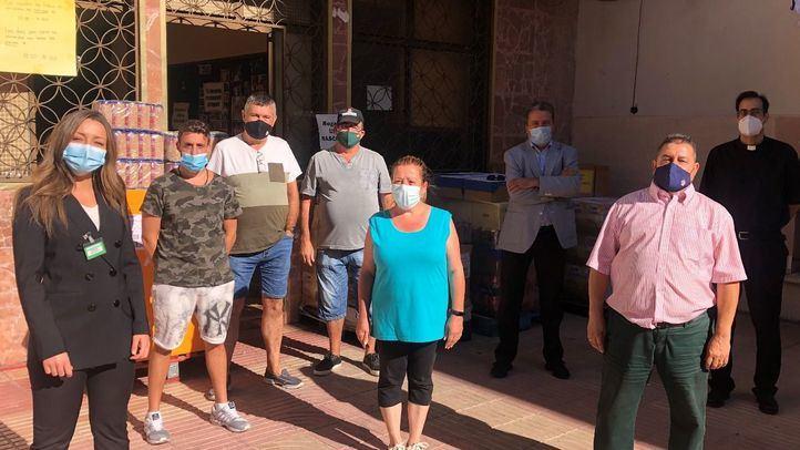 Mercadona dona a Cáritas La Fortuna (Leganés) 3.000 kilos de alimentos de primera necesidad
