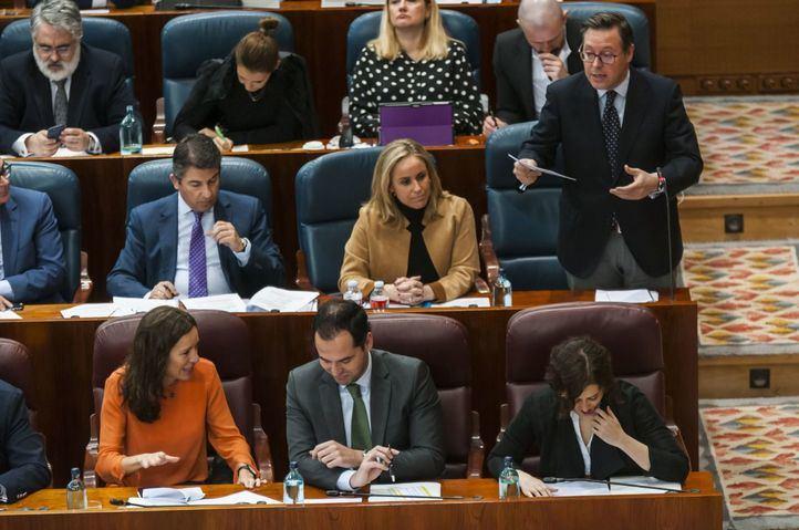 El PP solicita a la Asamblea que se 'zanje' la comisión sobre Avalmadrid