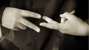'Intérpretes de lengua de signos' en lengua de signos