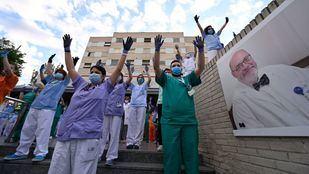 Trabajadores del Hospital Gregorio Marañón
