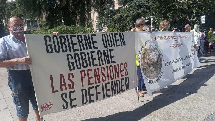 Pensionistas reclaman ante el Congreso pensiones públicas dignas para todos