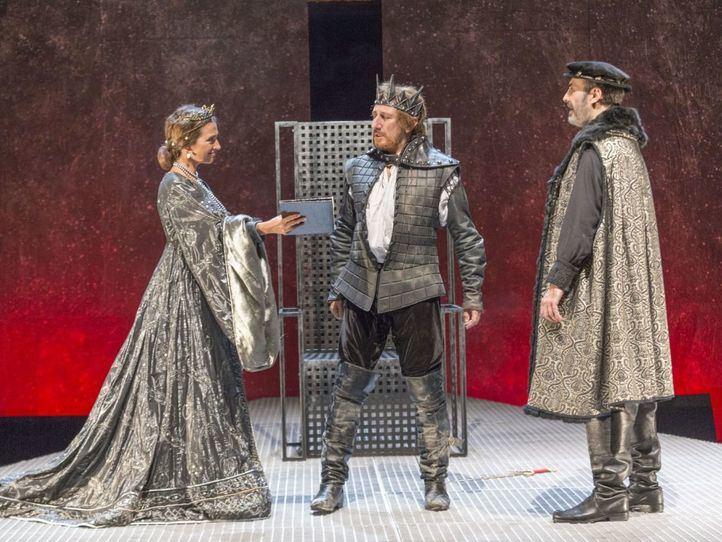 El popular actor José Luis Gil es ahora Eduardo II