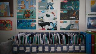 Imágenes de archivo del Colegio de educación especial María Corredentora.